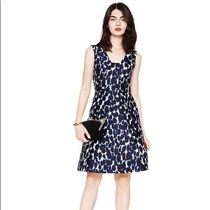 Kate spade Animal Print Fit & Flare Dress